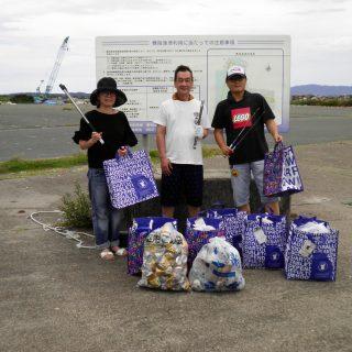 浜松海さくらサンのゴミ拾いに参加しました